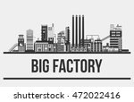 outline of giant manufacturer... | Shutterstock .eps vector #472022416