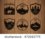 camping and outdoors adventure... | Shutterstock .eps vector #472032775