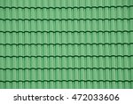 Green Tile Roof For Texture An...
