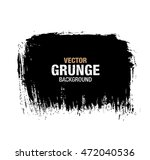 vector black grunge background | Shutterstock .eps vector #472040536