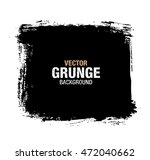vector black grunge background | Shutterstock .eps vector #472040662