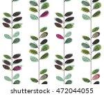 mid century inspired seamless... | Shutterstock .eps vector #472044055