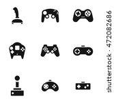 joystick vector icons. simple...