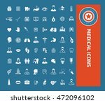 medical icon healthy care icon ... | Shutterstock .eps vector #472096102