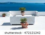 beautiful terrace over... | Shutterstock . vector #472121242