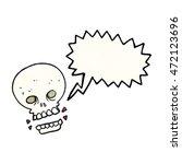 freehand speech bubble textured ... | Shutterstock . vector #472123696