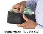 business man checking or taking ... | Shutterstock . vector #472145512