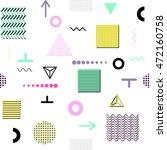 trendy geometric elements...   Shutterstock .eps vector #472160758