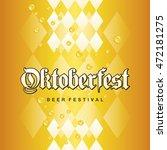 oktoberfest beer festival 2016... | Shutterstock .eps vector #472181275