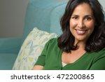 mature hispanic woman | Shutterstock . vector #472200865