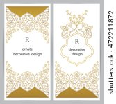 vector decorative frame.... | Shutterstock .eps vector #472211872