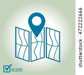 map icon. location simbol. | Shutterstock .eps vector #472222666