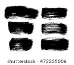 set of brush strokes | Shutterstock .eps vector #472225006