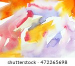 abstract red  yellow and violet ... | Shutterstock . vector #472265698