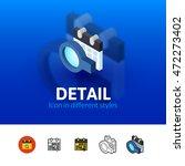 detail color icon  vector...