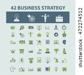 business strategy icons | Shutterstock .eps vector #472274512