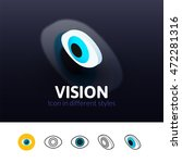 vision color icon  vector...