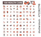 health care icons | Shutterstock .eps vector #472282798