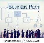 business analytics workflow... | Shutterstock . vector #472288636