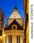 Zamosc Cathedral At Night....
