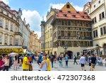 czech republic  praga  28 jule... | Shutterstock . vector #472307368