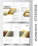 tri fold brochure business... | Shutterstock .eps vector #472323028