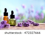 essential oil with lavender... | Shutterstock . vector #472327666
