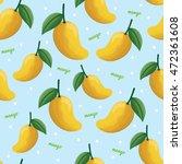 seamless background pattern of... | Shutterstock .eps vector #472361608