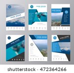 annual report brochure flyer... | Shutterstock .eps vector #472364266