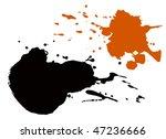 vector splashes | Shutterstock .eps vector #47236666