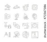 robotics and artificial... | Shutterstock .eps vector #472367386