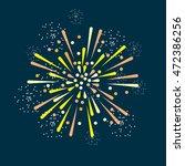 fireworks illustration | Shutterstock .eps vector #472386256