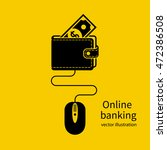 online banking icon. web... | Shutterstock .eps vector #472386508