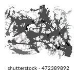 abstract ink blots artistic... | Shutterstock .eps vector #472389892