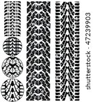 print various automobile tyres   Shutterstock .eps vector #47239903