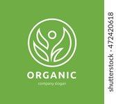 organic logo | Shutterstock .eps vector #472420618