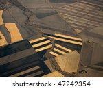 closeup aerial view of crop... | Shutterstock . vector #47242354