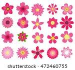 flowers  illustration  | Shutterstock . vector #472460755