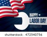 labor day. banner | Shutterstock .eps vector #472540756