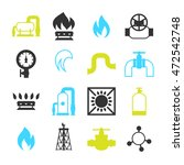 natural gas production ... | Shutterstock .eps vector #472542748