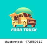 food truck | Shutterstock .eps vector #472580812