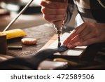 Leather Handbag Craftsman At...