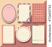cute template vector | Shutterstock .eps vector #472603732