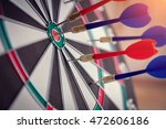 right on target concept using...   Shutterstock . vector #472606186