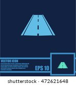 road icon  vector | Shutterstock .eps vector #472621648