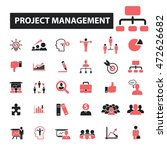 project management icons   Shutterstock .eps vector #472626682
