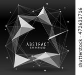 vector abstract background with ... | Shutterstock .eps vector #472631716