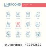family   modern vector plain... | Shutterstock .eps vector #472643632