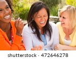 diverse group of friends... | Shutterstock . vector #472646278