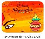 beautiful wallpaper design on... | Shutterstock .eps vector #472681726